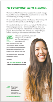 ADA's Anti-DIY Dentistry Campaign